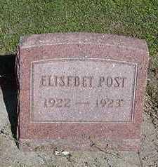 POST, ELISABET - Sioux County, Iowa | ELISABET POST