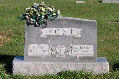 POST, ADRIANA - Sioux County, Iowa   ADRIANA POST