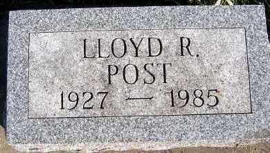 POST, LLOYD R. - Sioux County, Iowa   LLOYD R. POST