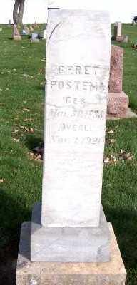 POSTEMA, GERET - Sioux County, Iowa | GERET POSTEMA