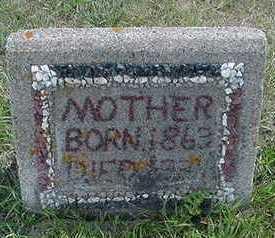 POSTHUMUS, MOTHER - Sioux County, Iowa   MOTHER POSTHUMUS
