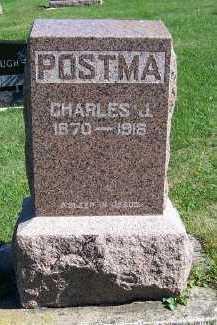 POSTMA, CHARLES J. - Sioux County, Iowa   CHARLES J. POSTMA