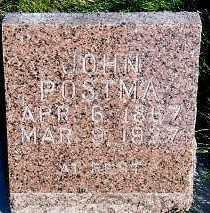 POSTMA, JOHN - Sioux County, Iowa   JOHN POSTMA