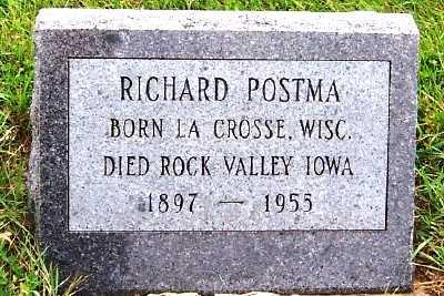 POSTMA, RICHARD - Sioux County, Iowa   RICHARD POSTMA