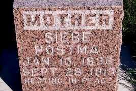 POSTMA, SIEBE - Sioux County, Iowa | SIEBE POSTMA