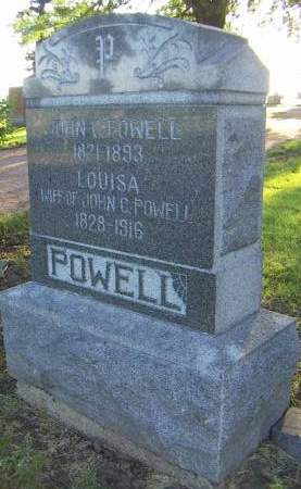 POWELL, LOUISA - Sioux County, Iowa | LOUISA POWELL