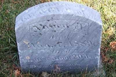 PRALER, NANCY A. (DAU OF G.W.& C.L.) - Sioux County, Iowa   NANCY A. (DAU OF G.W.& C.L.) PRALER