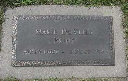 DEVRIES PRINS, MARIE - Sioux County, Iowa | MARIE DEVRIES PRINS