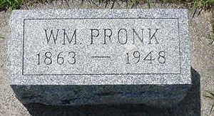 PRONK, WM - Sioux County, Iowa | WM PRONK