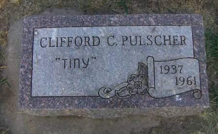PULSCHER, CLIFFORD C.  'TINY' - Sioux County, Iowa | CLIFFORD C.  'TINY' PULSCHER