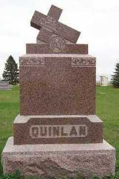 QUINLAN, HEADSTONE - Sioux County, Iowa | HEADSTONE QUINLAN