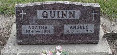 QUINN, AGATHA (MRS. ANGELO) - Sioux County, Iowa | AGATHA (MRS. ANGELO) QUINN