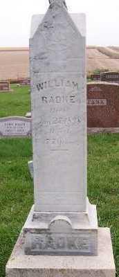RADKE, WILLIAM - Sioux County, Iowa | WILLIAM RADKE