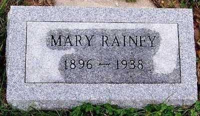RAINEY, MARY - Sioux County, Iowa | MARY RAINEY