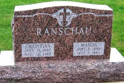 RANSCHAU, CHRISTIAN - Sioux County, Iowa | CHRISTIAN RANSCHAU