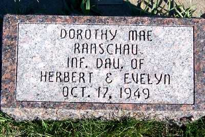 RANSCHAU, DOROTHY MAE - Sioux County, Iowa | DOROTHY MAE RANSCHAU