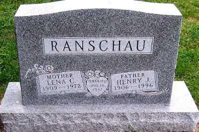 RANSCHAU, HENRY J. - Sioux County, Iowa | HENRY J. RANSCHAU