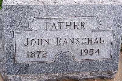 RANSCHAU, JOHN - Sioux County, Iowa | JOHN RANSCHAU