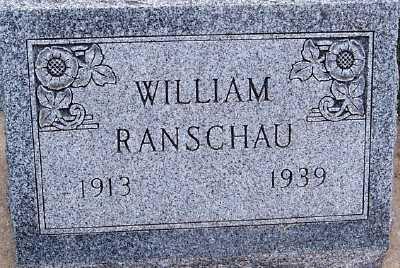 RANSCHAU, WILLIAM - Sioux County, Iowa | WILLIAM RANSCHAU