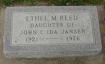 REED, ETHEL M. - Sioux County, Iowa | ETHEL M. REED