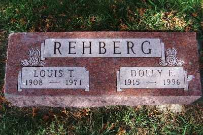 REHBERG, DOLLY E. - Sioux County, Iowa   DOLLY E. REHBERG