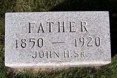 REIMERS, JOHN H. SR. - Sioux County, Iowa | JOHN H. SR. REIMERS