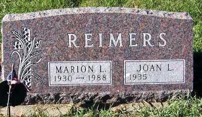 REIMERS, MARION L. - Sioux County, Iowa | MARION L. REIMERS