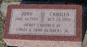 REINDERS, CAMILLA - Sioux County, Iowa | CAMILLA REINDERS