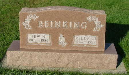 REINKING, MILDRED (MRS. IRWIN) - Sioux County, Iowa | MILDRED (MRS. IRWIN) REINKING