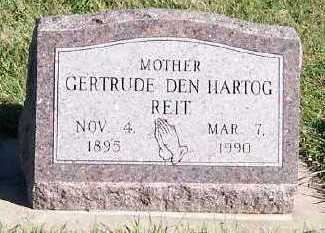 DENHARTOG REIT, GERTRUDE - Sioux County, Iowa   GERTRUDE DENHARTOG REIT