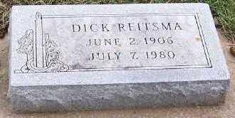 REITSMA, DICK - Sioux County, Iowa | DICK REITSMA