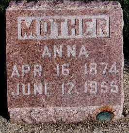 REMMERDE, ANNA - Sioux County, Iowa   ANNA REMMERDE