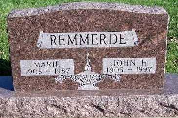 REMMERDE, JOHN H. - Sioux County, Iowa | JOHN H. REMMERDE