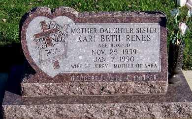 RENES, KARI BETH (MRS. JERRY) - Sioux County, Iowa | KARI BETH (MRS. JERRY) RENES