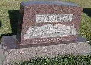 REXWINKEL, BARBARA J. - Sioux County, Iowa   BARBARA J. REXWINKEL