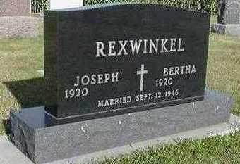 REXWINKEL, BERTHA - Sioux County, Iowa | BERTHA REXWINKEL