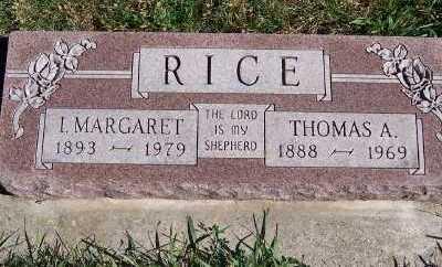RICE, THOMAS A. - Sioux County, Iowa | THOMAS A. RICE