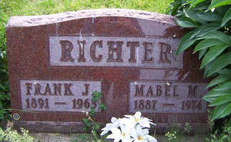 RICHTER, FRANK J. - Sioux County, Iowa | FRANK J. RICHTER