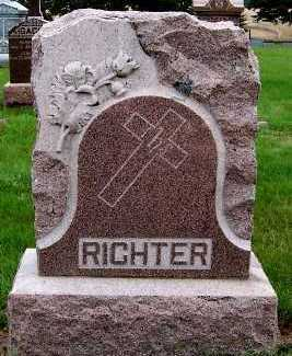 RICHTER, HEADSTONE - Sioux County, Iowa | HEADSTONE RICHTER