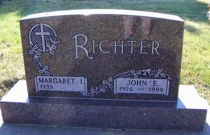 RICHTER, JOHN E. - Sioux County, Iowa   JOHN E. RICHTER