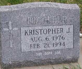 RICHTER, KRISTOPHER J. - Sioux County, Iowa | KRISTOPHER J. RICHTER