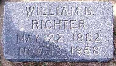 RICHTER, WILLIAM B. - Sioux County, Iowa   WILLIAM B. RICHTER