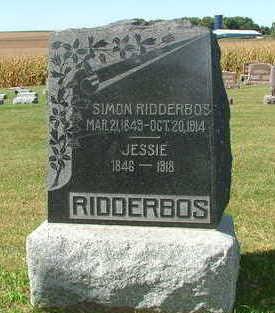 RIDDERBOS, SIMON - Sioux County, Iowa | SIMON RIDDERBOS