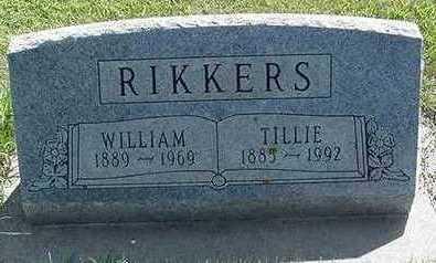 RIKKERS, TILLIE - Sioux County, Iowa | TILLIE RIKKERS