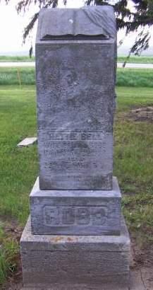 BELL ROBB, HETTIE (MRS. A. L.) - Sioux County, Iowa | HETTIE (MRS. A. L.) BELL ROBB