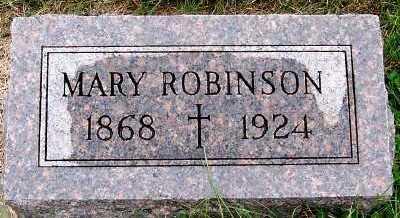 ROBINSON, MARY - Sioux County, Iowa   MARY ROBINSON
