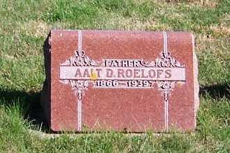 ROELOFS, AALT D. - Sioux County, Iowa | AALT D. ROELOFS