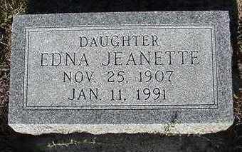 ROELOFS, EDNA JEANETTE - Sioux County, Iowa | EDNA JEANETTE ROELOFS