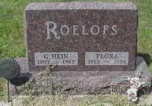 ROELOFS, G. HEIN - Sioux County, Iowa | G. HEIN ROELOFS