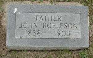 ROELOFSON, JOHN - Sioux County, Iowa | JOHN ROELOFSON